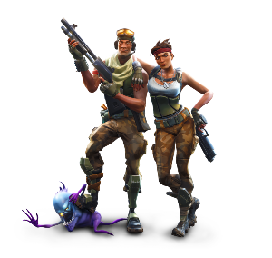 gamers Fortnite prêts pour Top 1